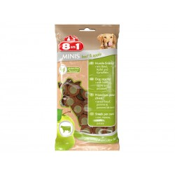 Friandises boeuf/pomme Chien - 8IN1 Minis