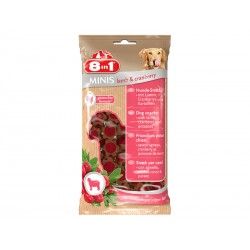 Friandises agneau/cranberry Chien - 8IN1 Minis