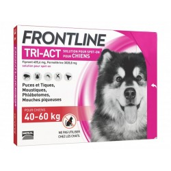 FRONTLINE TRI-ACT CHIEN XL 6 PIP.
