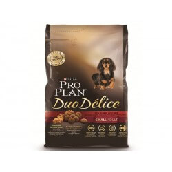 Croquettes DUO DELICE ADULT SMALL BOEUF Chien Sac 2.5 kg - Pro Plan