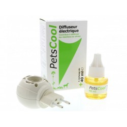 Diffuseur + Recharge PETSCOOL 8 SEMAINES Flacon 40 ml