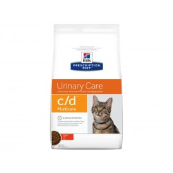 Croquettes C/D MULTICARE POULET Chat Sac 10 kg - Prescription Diet