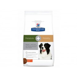 Croquettes METABOLIC + MOBILITY POULET Chien Sac 12 kg - Prescription Diet