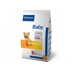 Croquettes BABY SMALL & TOY Sac 1,5 kg Chien - Veterinary HPM