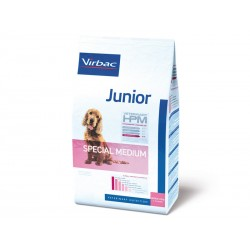 Croquettes JUNIOR SPECIAL MEDIUM Sac 12 kg Chien - Veterinary HPM