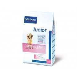 Croquettes JUNIOR SPECIAL LARGE Sac 3 kg Chien - VIRBAC Veterinary HPM