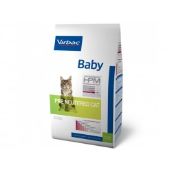 Croquettes BABY PRE NEUTERED Chat Sac 3 kg - Veterinary HPM
