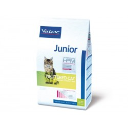 Croquettes JUNIOR NEUTERED Chat Sac 400 g - Veterinary HPM