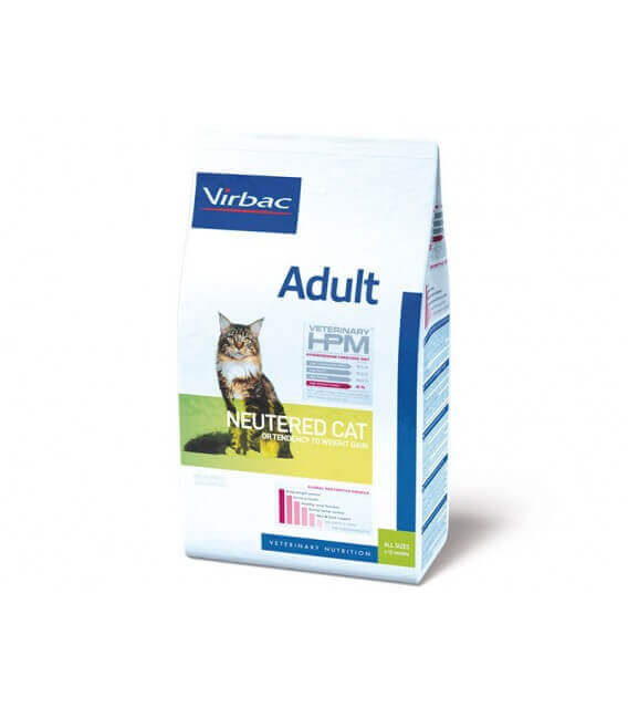 Croquettes ADULT NEUTERED Chat Sac 12 kg - Veterinary HPM