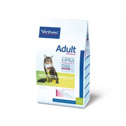 Croquettes ADULT NEUTERED/ENTIRE SAUMON Chat Sac 3 kg - Veterinary HPM