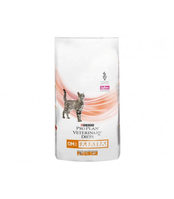 Croquettes OM OBESITY MANAGEMENT Chat Sac 5 kg - Pro Plan Veterinary Diets
