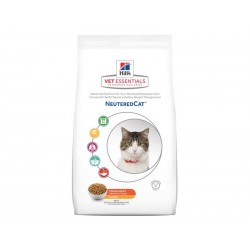 Croquettes NEUTERED YOUNG ADULT POULET Sac 3 kg Chat - HILL'S VetEssentials