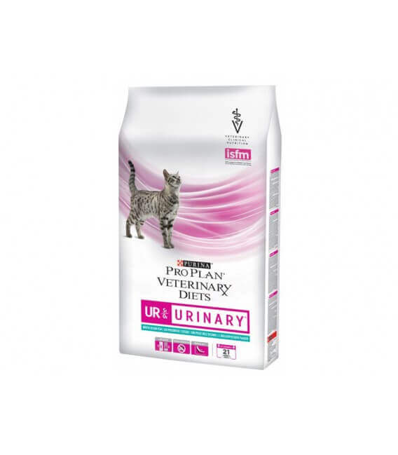 Croquettes UR URINARY POISSON Chat Sac 5 kg - Pro Plan Veterinary Diets