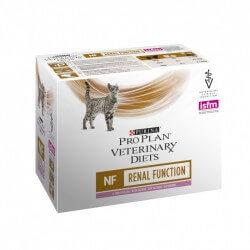 Pâtée NF RENAL FUNCTION SAUMON Chat 10x85g - Pro Plan Veterinary Diets