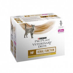 Proplan Veterinary Diets Féline NF RENAL FUNCTION POULET Sachets 10 X 85 g