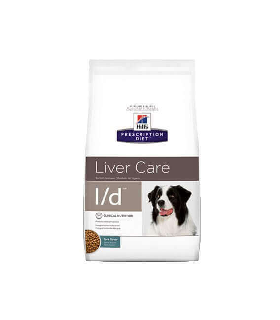 Croquettes L/D LIVER CARE Chien Sac 5 kg - Prescription Diet