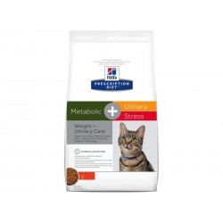 Croquettes METABOLIC + URINARY STRESS Chat Sac 4 kg - Prescription Diet