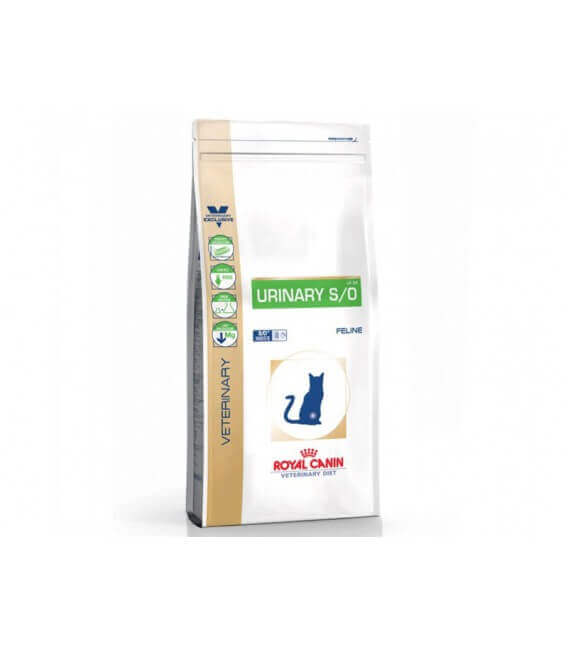 Croquettes URINARY S/O Chat Sac 7 kg - Veterinary Health Nutrition