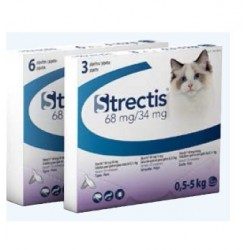 Solution STRECTIS 68/34 MG Chat 3 pip.