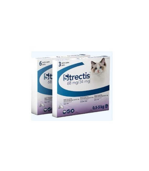 Solution STRECTIS 68/34 MG Chat 6 pip.