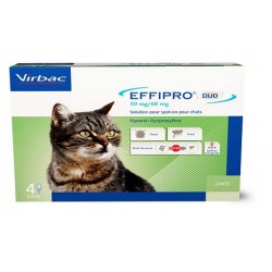 Solution EFFIPRO DUO S/O Chat 4 pip.