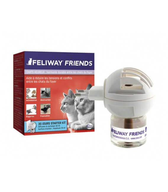 Diffuseur + Recharge FELIWAY FRIENDS Chat