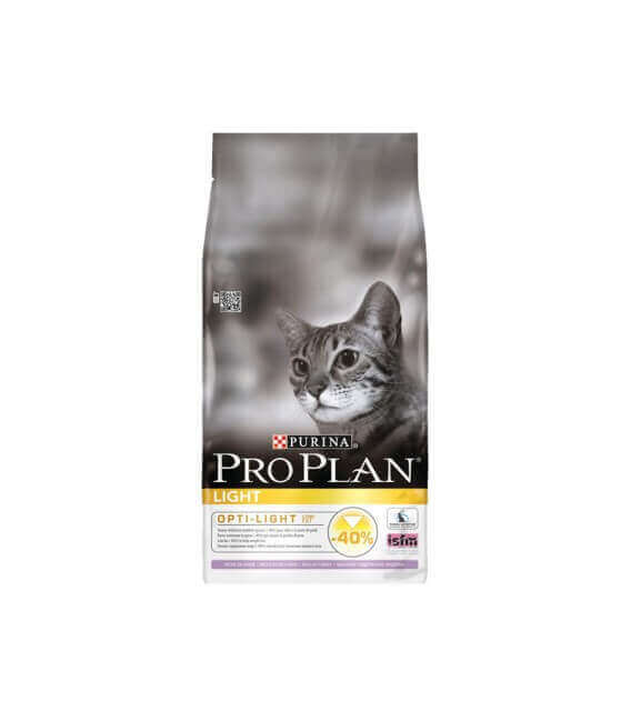 Croquettes ADULT LIGHT DINDE Chat Sac 1.5 kg - Pro Plan