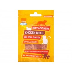 Friandise Chat KITTY DELISHY POULET 30 g X 10