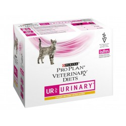 Pâtée UR URINARY POULET Chat 10x85g - Pro Plan Veterinary Diets