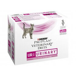 Pâtée UR URINARY SAUMON Chat 10x85g - Pro Plan Veterinary Diets