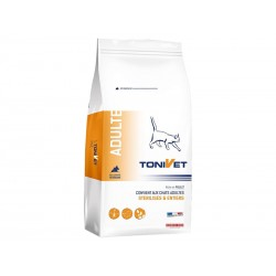 Croquettes ADULT POULET Chat Sac 2 kg - Tonivet