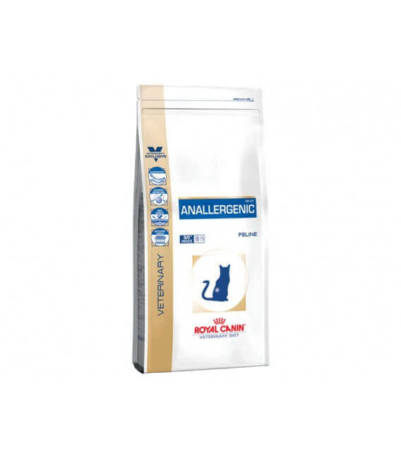Croquettes ANALLERGENIC Chat Sac 2 kg - Veterinary Health Nutrition