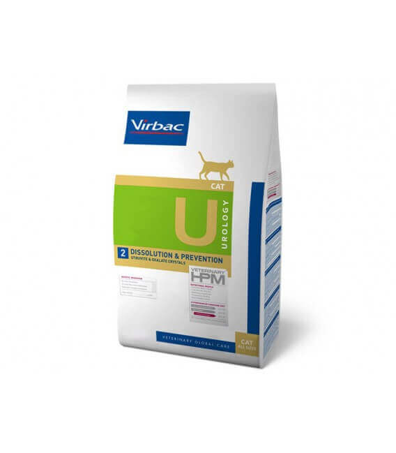 Croquettes UROLOGY DISSOLUTION & PREVENTION Chat Sac 1.5 kg - Veterinary HPM