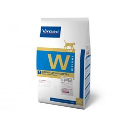 Croquettes WEIGHT LOSS & DIABETES Chat Sac 1.5 kg - Veterinary HPM