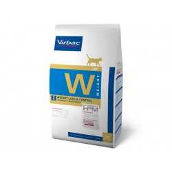 Croquettes WEIGHT LOSS & CONTROL Chat Sac 3 kg - Veterinary HPM