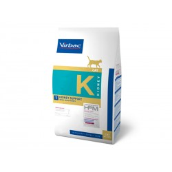 Croquettes KIDNEY SUPPORT Chat Sac 3 kg - Veterinary HPM