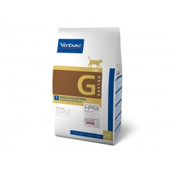 Croquettes DIGESTIVE SUPPORT Chat Sac 1.5 kg - Veterinary HPM