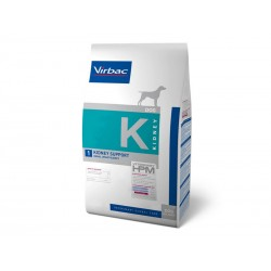 Croquettes KIDNEY SUPPORT Chien Sac 3 kg - Veterinary HPM
