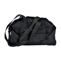 Sac de transport CORBEILLE TENTATION NOIR T.S Chien Chat