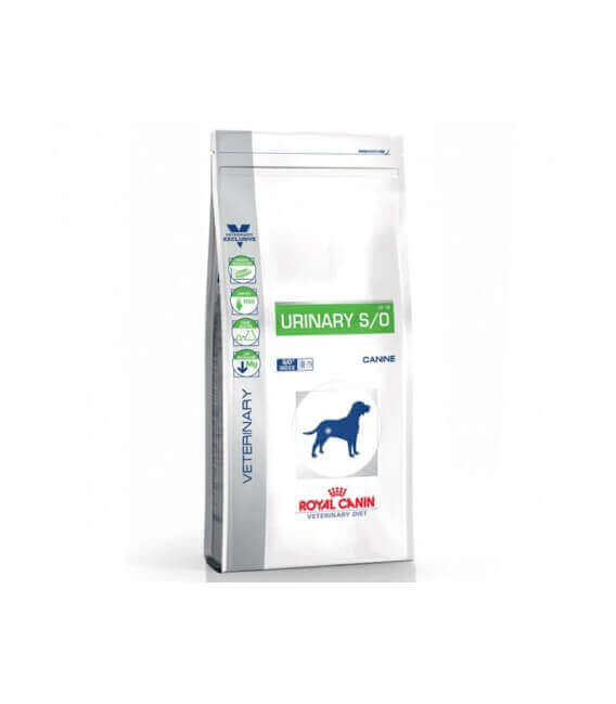 Croquettes URINARY S/O Chien Sac 2 kg - Veterinary Health Nutrition