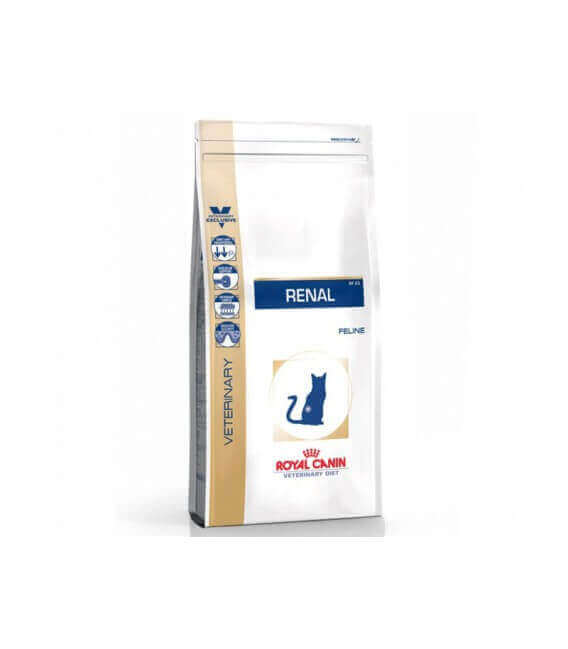 Croquettes RENAL Chat Sac 2 kg - Veterinary Diet