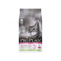 Croquettes DELICATE OPTIRENAL AGNEAU Chat Sac 10 kg - Pro Plan
