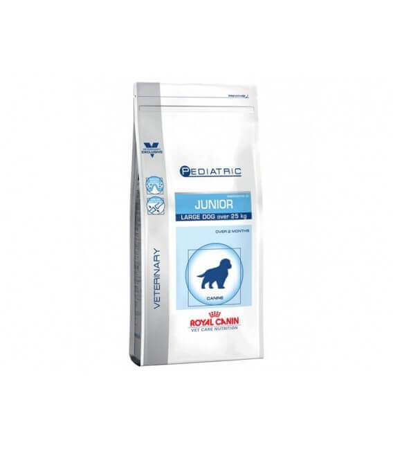 Croquettes JUNIOR LARGE Sac 4 kg Chien - ROYAL CANIN Veterinary Care Nutrition