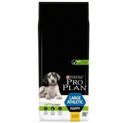 Croquettes OPTISTART LARGE PUPPY ATHLETIC POULET Chiot Sac 12 kg - Pro Plan