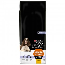 Croquettes OPTIAGE MEDIUM/LARGE ADULTE 7+ POULET Chien Sac 14 kg - Pro Plan