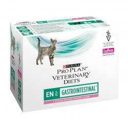 Pâtée EN GASTROINTESTINAL SAUMON Chat 10x85g - Pro Plan Veterinary Diets