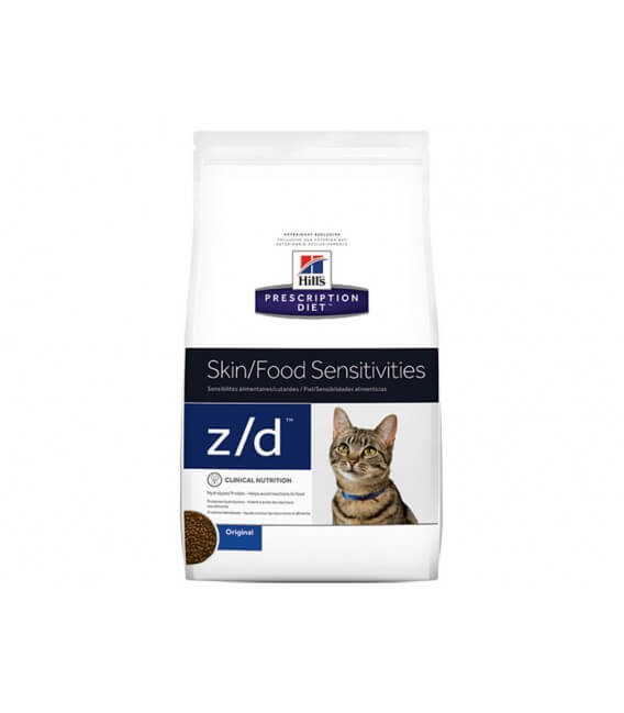 Croquettes Z/D ALLERGY Sac 2 kg Chat - HILL'S Prescription Diet