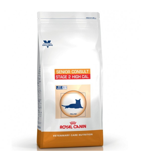 Veterinary Care Nutrition Chat SENIOR CONSULT STAGE 2 HIGH CALORIE Sac 1.5 kg