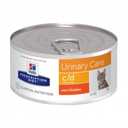 Pâtée C/D MULTICARE POULET Chat 24x156g - Prescription Diet