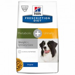 Croquettes METABOLIC + URINARY Chien Sac 2 kg - HILL'S Prescription Diet